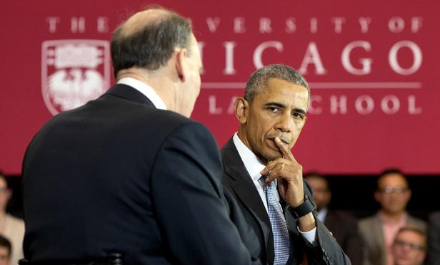 Obama Returns To Chicago Law School Warning Of Scotus Crisis