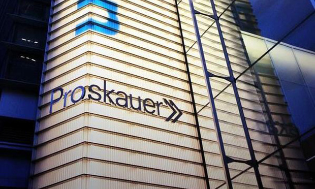 Proskauer Rose's headquarters in New York