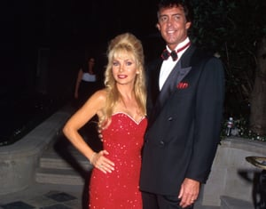 Herbalife founder Mark Hughes and his wife, Suzan, in 1996