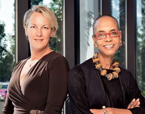 Kara Baysinger and Michele Coleman Mayes