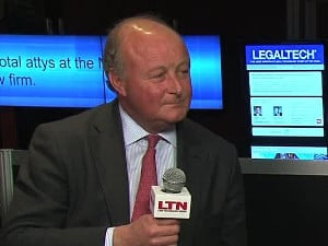 Nigel Murray at LegalTech New York