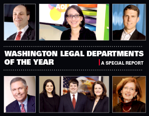 Washington Legal Departments of the Year