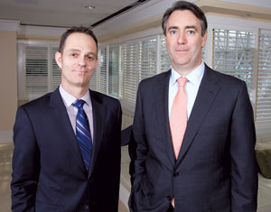 Hogan Lovells' E. Desmond Hogan and Christopher Handman