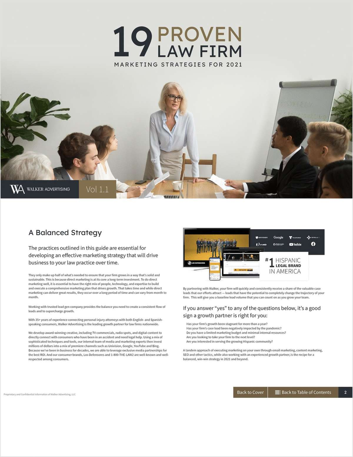 An effective marketing strategy is essential for driving business to your firm. Discover proven tools and techniques in this ultimate, in-depth guide that you can take action on today.