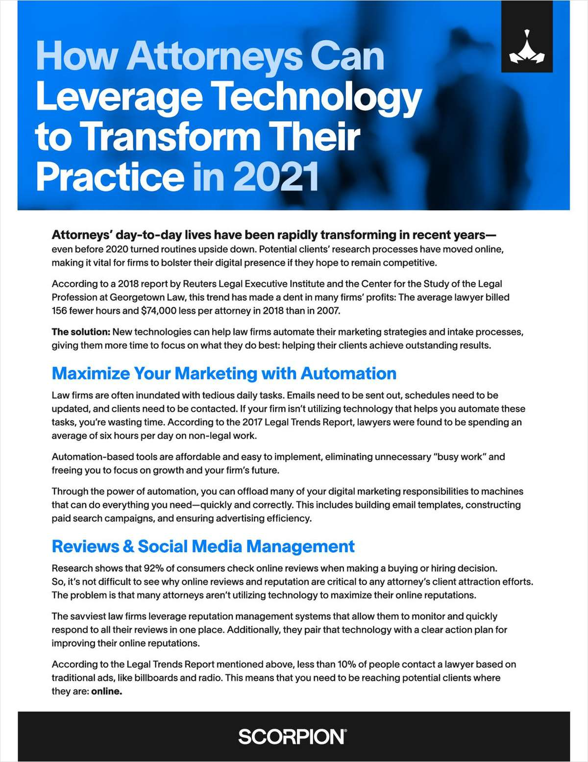 Your firm needs to bolster its digital presence in order to remain competitive. Learn how marketing automation can boost your firm revenue while giving you more time to help your clients achieve outstanding results.