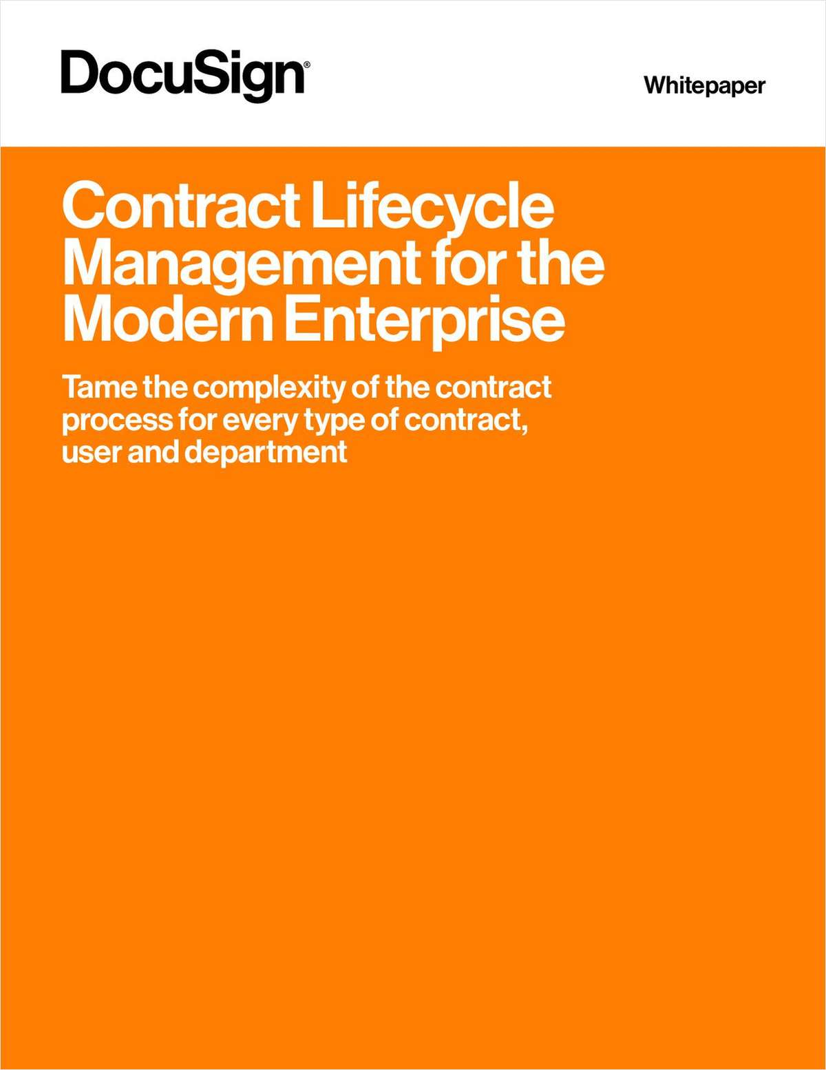 The contract process is notoriously complex, often with multiple parties and steps to  reach agreement on a document. Learn how to tame the complexity of the contract process for every type of contract, user and department in this white paper.
