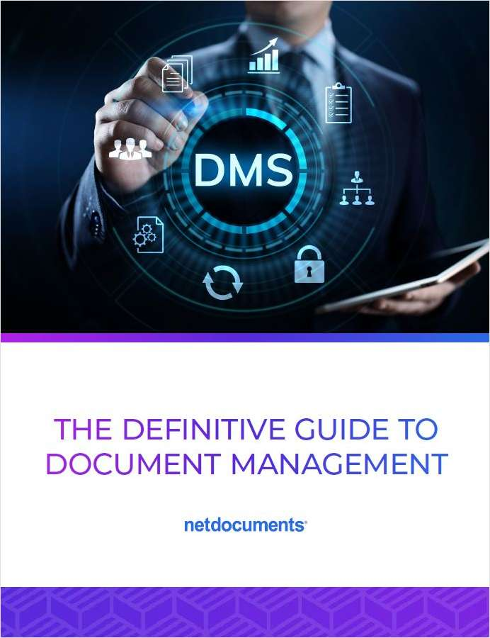 Document Management Systems (DMS) provide the robust safety measures legal departments require to defend against cyberattacks while giving lawyers the features they need to work effectively. This guide outlines why a DMS is essential, how to select the right solution for your department, and how to measure its success.
