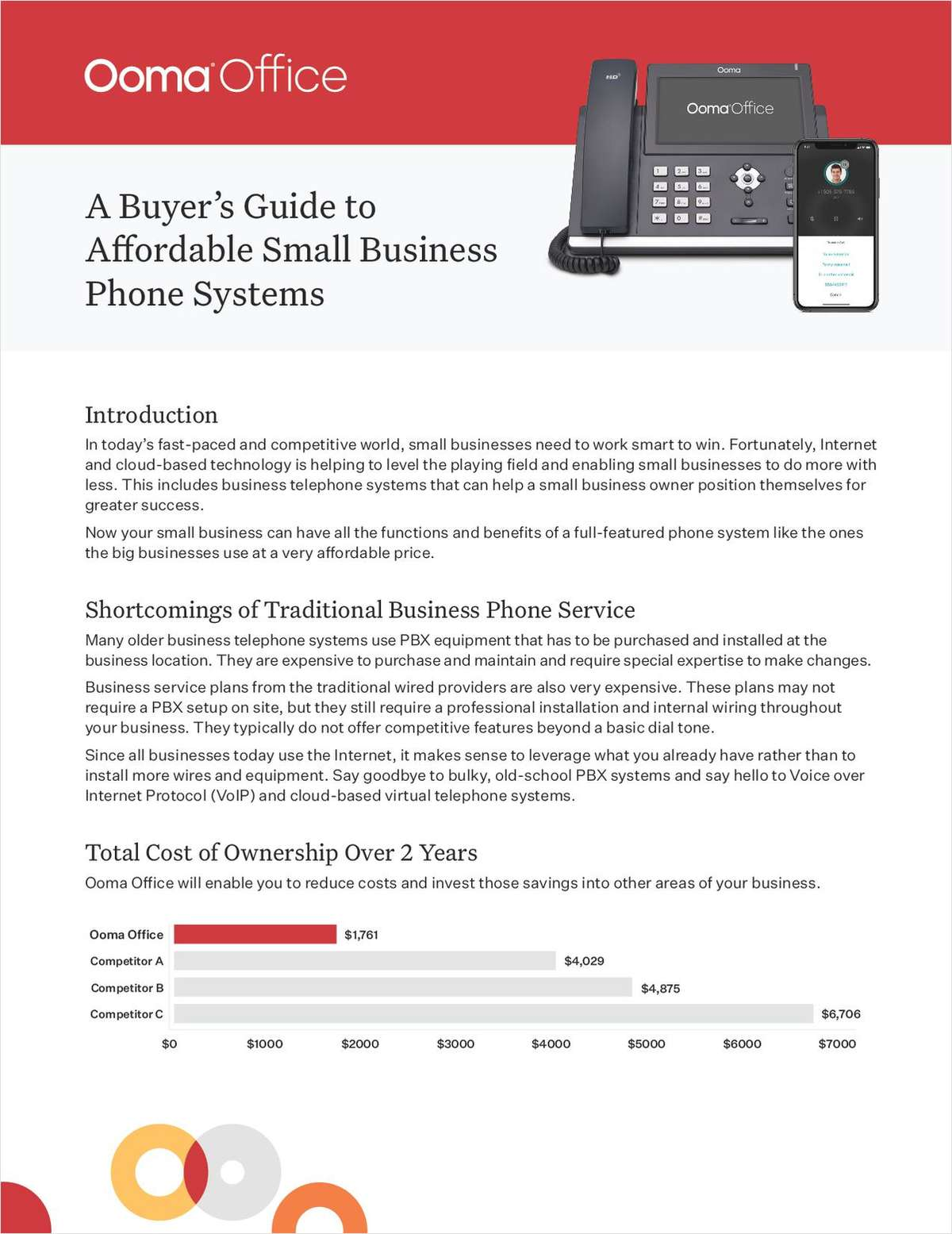 Internet and cloud-based technology is leveling the playing field. Learn how a VoIP setup can position you for greater success.