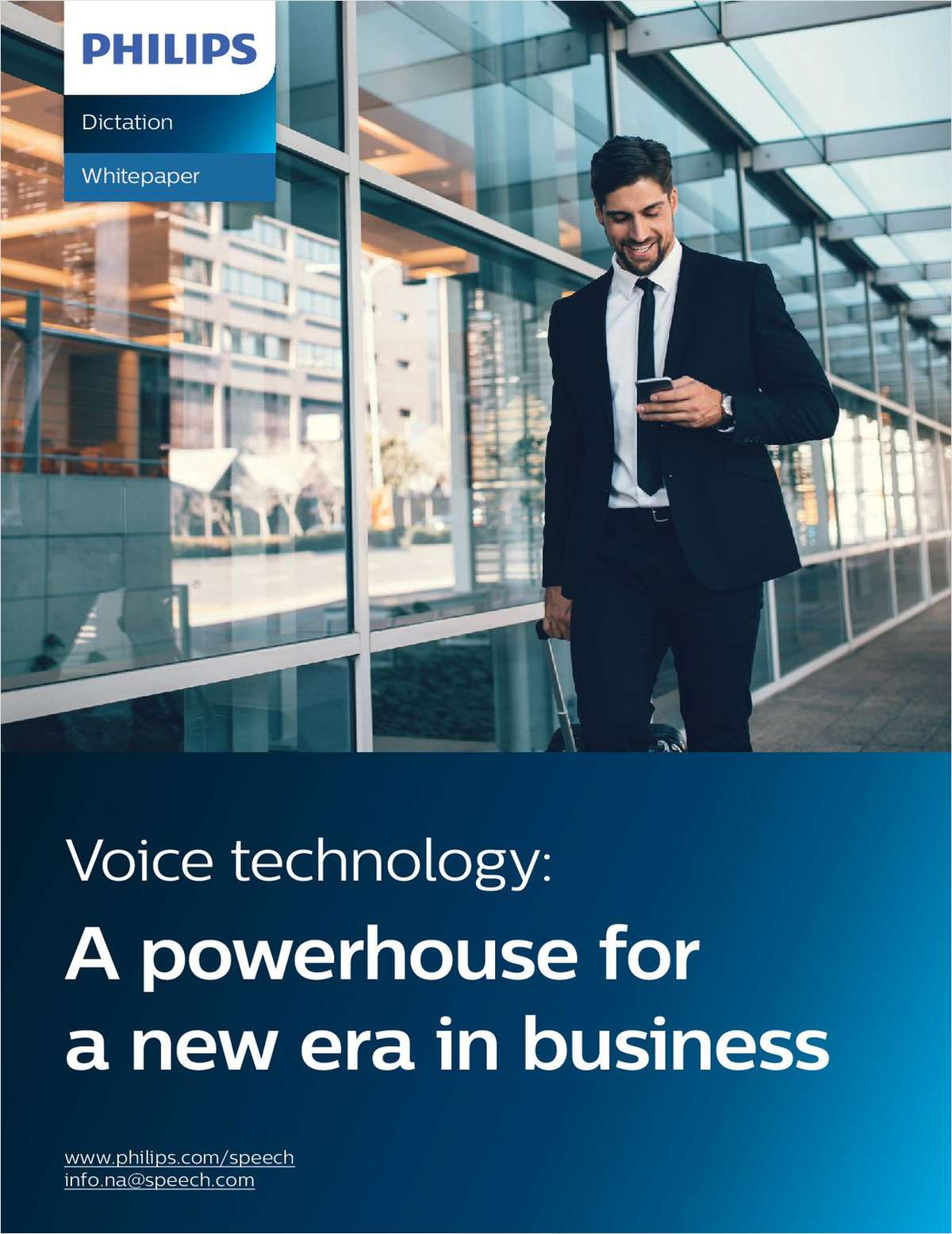 Voice technology is transforming legal business processes and client service. This white paper explores not only the benefits of new innovations in voice technologies, but also the ways it is evolving to continuously meet the needs of legal professionals.